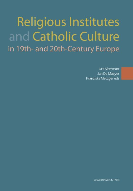 Religious institutes and catholic culture
