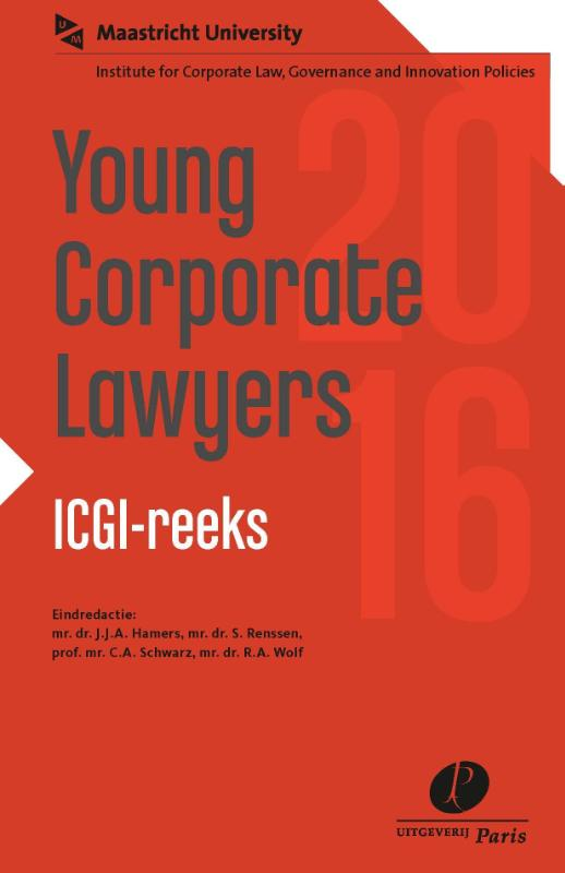 ICGI-reeks - Institute for Corporate Law, Governance and Innovation Policies