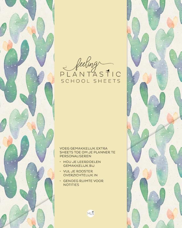 Feeling Plantastic SCHOOL SHEETS