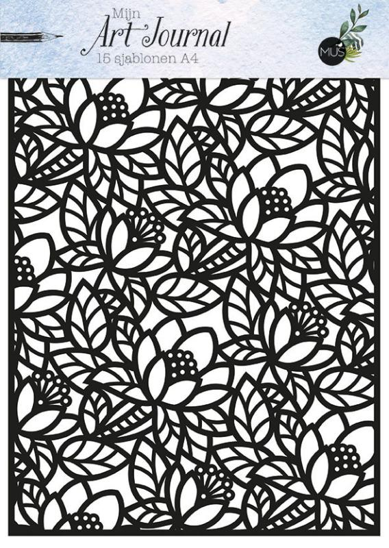 Mijn Art Journal 15 sjablonen A4
