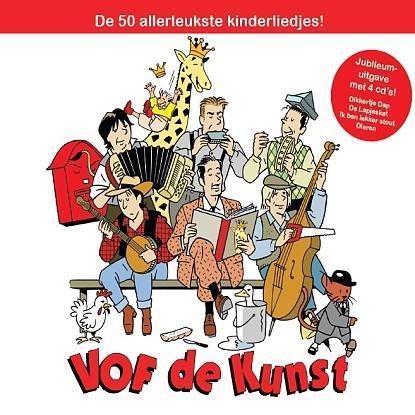 De 50 allerleukste kinderliedjes van VOF de Kunst verdeeld over een speciale jubileum uitgave met 4 cd's: Dikkertje Dap, De Lapjeskat, Ik ben lekker stout en Dieren.  Deze box is speciaal samengesteld vanwege het 25 jarig jubileum.