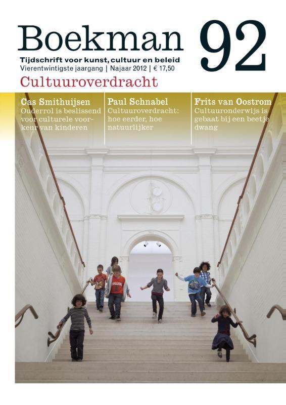 Boekman 92 - Boekman cultuuroverdracht