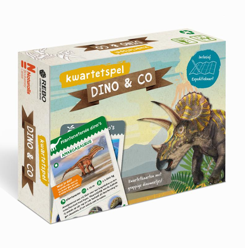 DINO & CO - kwartetspel met posterboek
