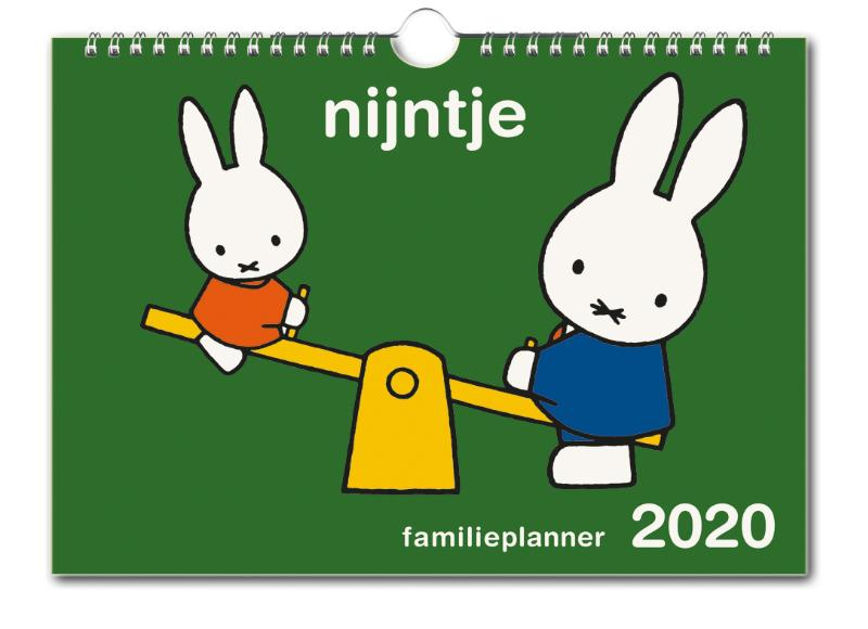Nijntje familie planner 2020