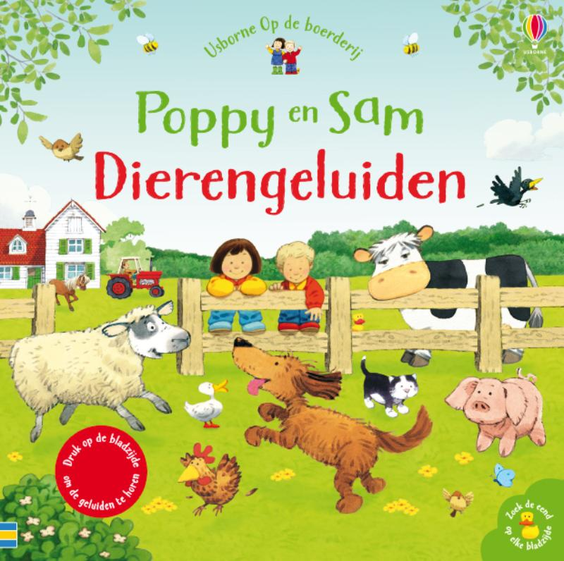 Poppy en Sam Dierengeluiden