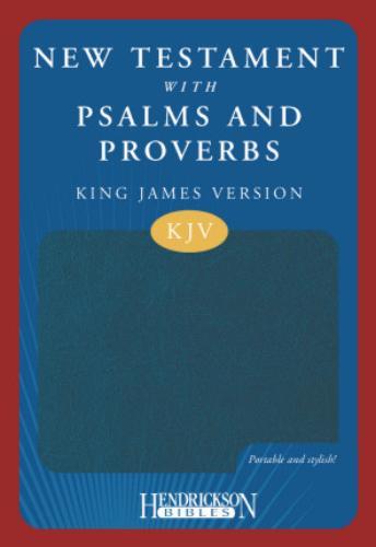 New Testament with Psalms & Proverbs-KJV