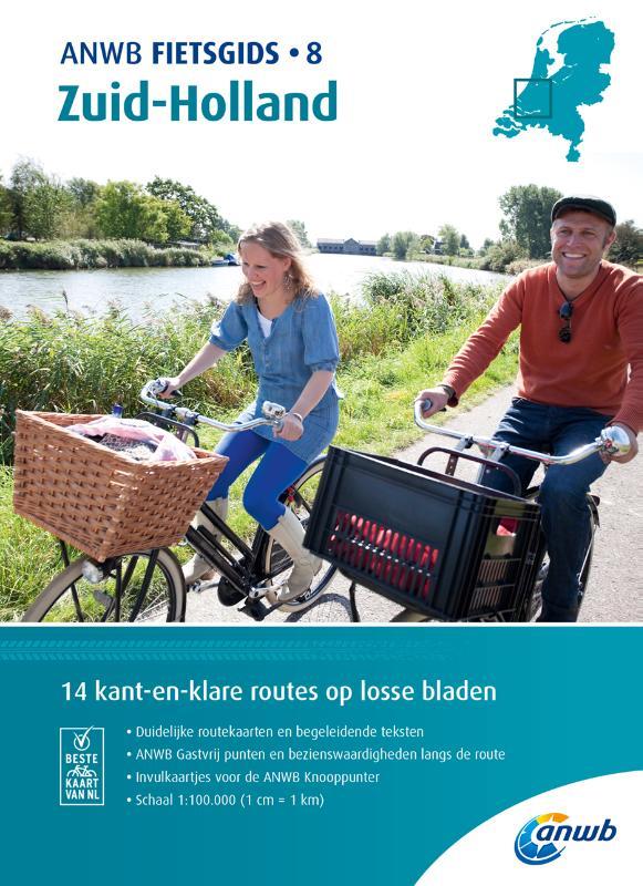 ANWB Fietsgids 8. Zuid-Holland