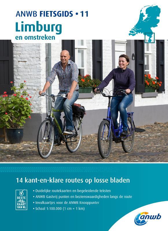 ANWB Fietsgids 11. Limburg en omstreken