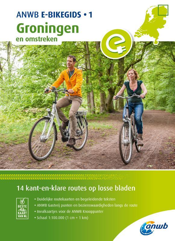 ANWB E-Bikegids 1 Groningen en omstreken
