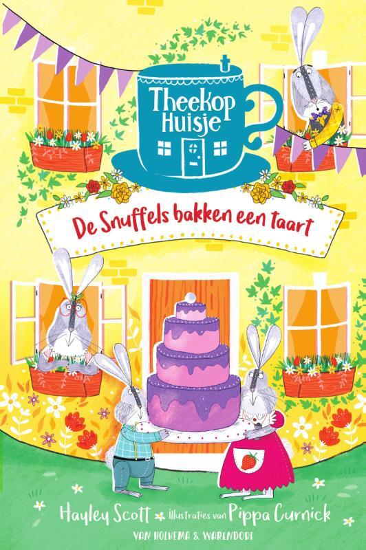Theekophuisje 2 - De snuffels bakken een taart