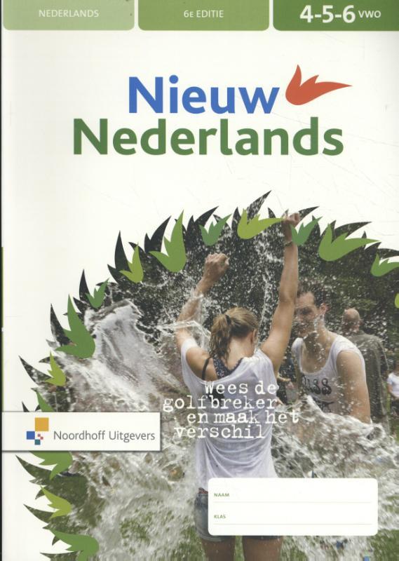 Nieuw Nederlands 4-5-6 vwo Leerwerkboek
