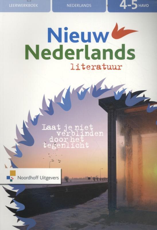 Nieuw Nederlands Literatuur 4-5 havo leerwerkboek