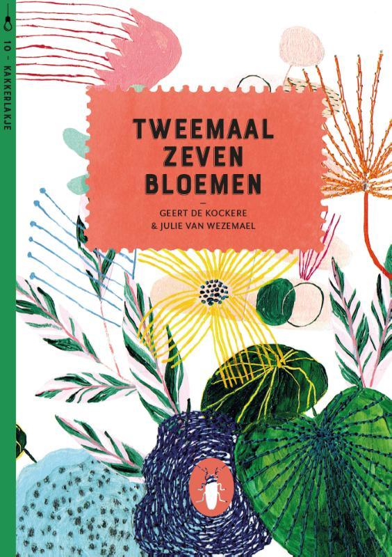 Kakkerlakjes poëzie 10 - Tweemaal zeven bloemen (set van 6)
