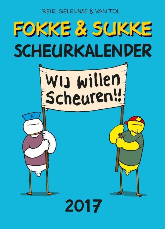 Fokke & Sukke Scheurkalender 2017