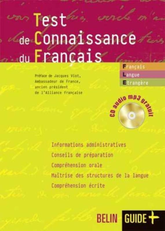 TEST DE CONNAISSANCE DU FRANCAIS