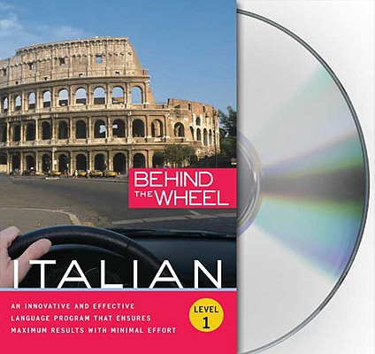 Behind the Wheel - Italian 1 [With 112 Page Companion Book]