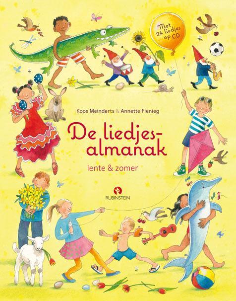De liedjesalmanak lente & zomer, met 24 liedjes op cd door Koos Meinderts, Annette Fienieg en Thijs Borsten