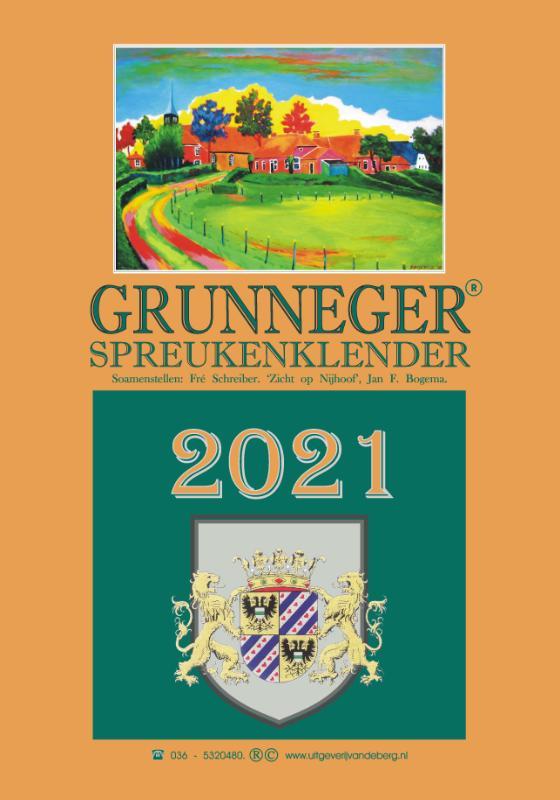 Grunneger spreukenklender 2021