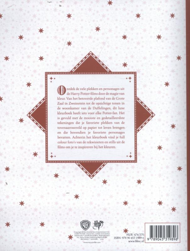 Harry Potter kleurboek 3 - Magische plekken en personages