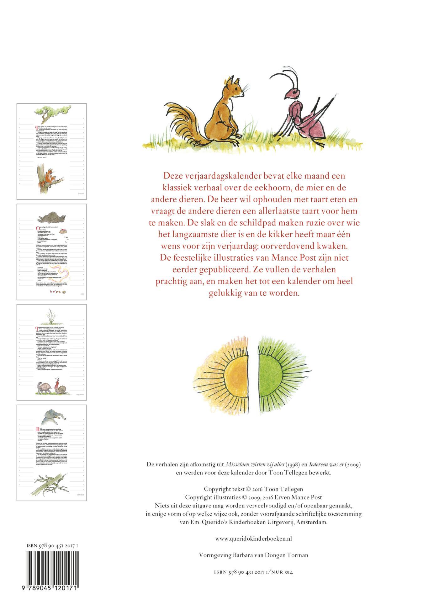 Prentenboeken Tot 6 Jaar Toon Tellegen Verjaardagskalender