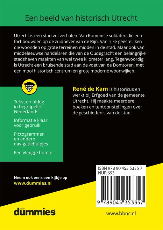 Voor Dummies - De kleine geschiedenis van Utrecht voor dummies