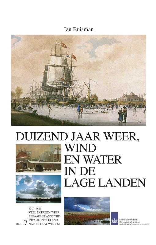 Duizend jaar weer wind en water in de Lage Landen