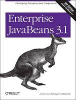 Enterprise JavaBeans 3.1 6e