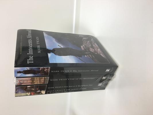 The Best of Mark Twain 4 Volume Set