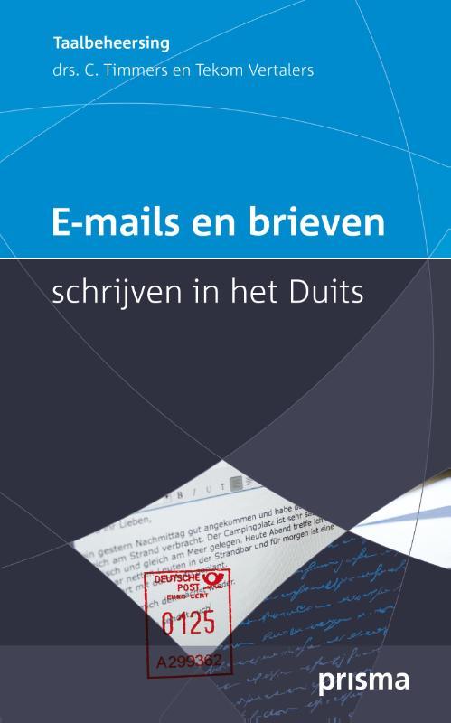 E-mails en brieven schrijven in het Duits