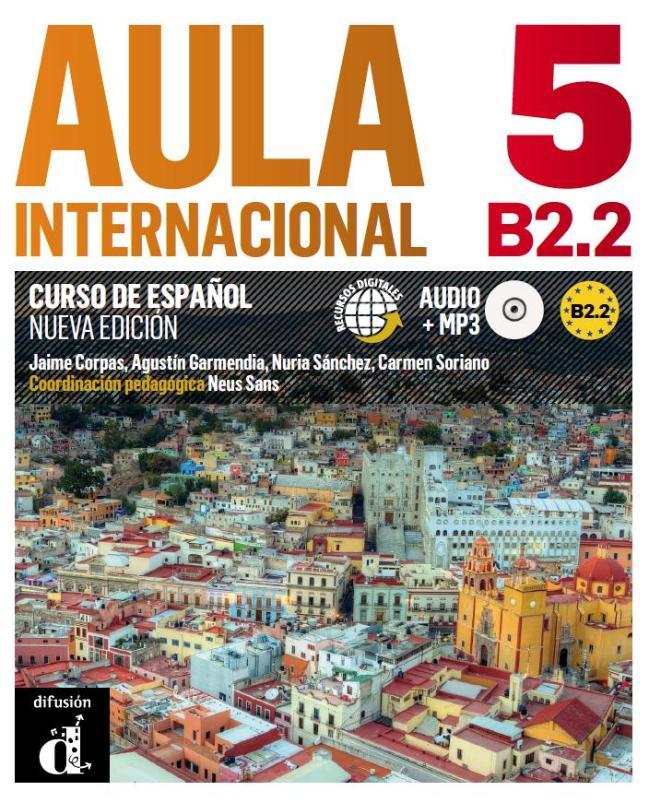 Aula Internacional 5 Libro del alumno + MP3