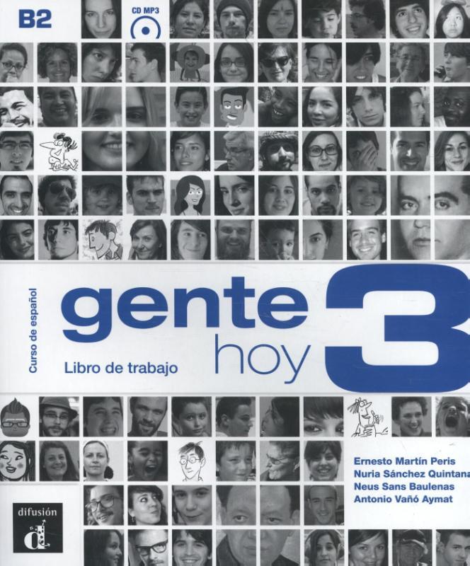 Gente Hoy 3 Libro del trabajo + CD versión original