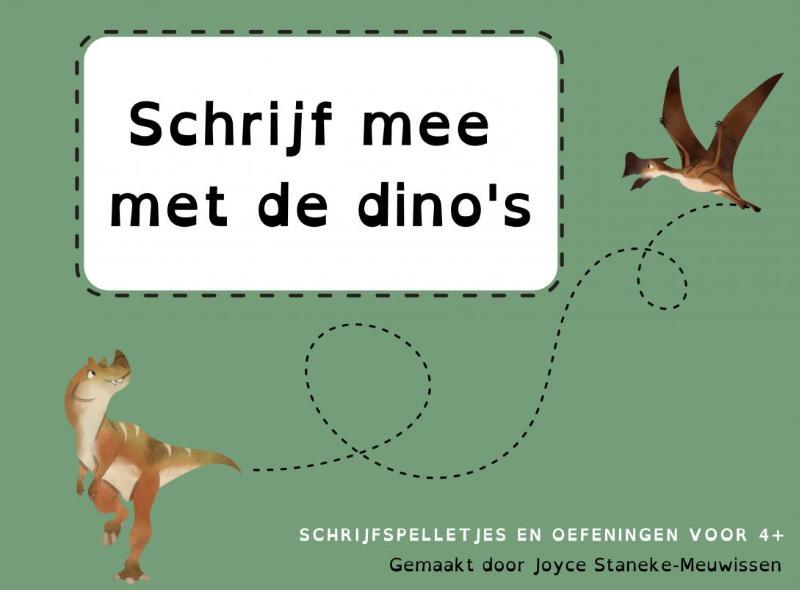 Schrijf mee met de Dino